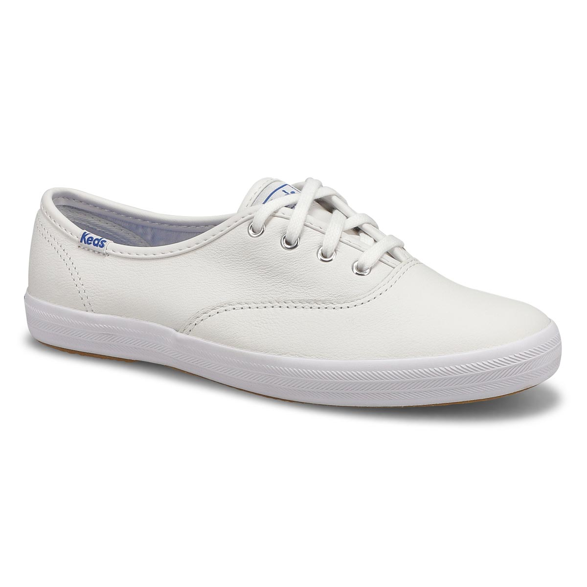 Women's CHAMPION OXFORD white leather sneakers