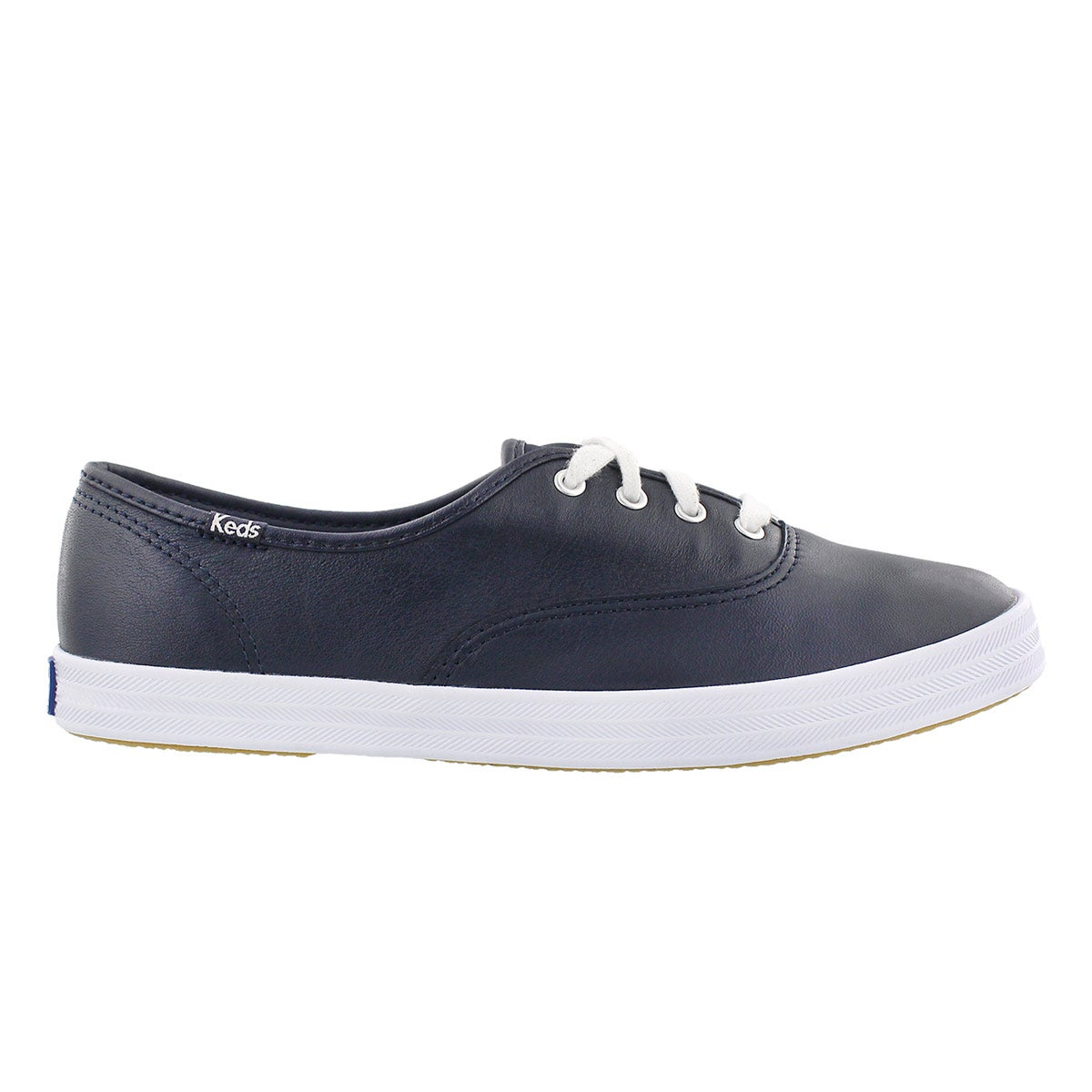Lds Champion navy leather sneaker