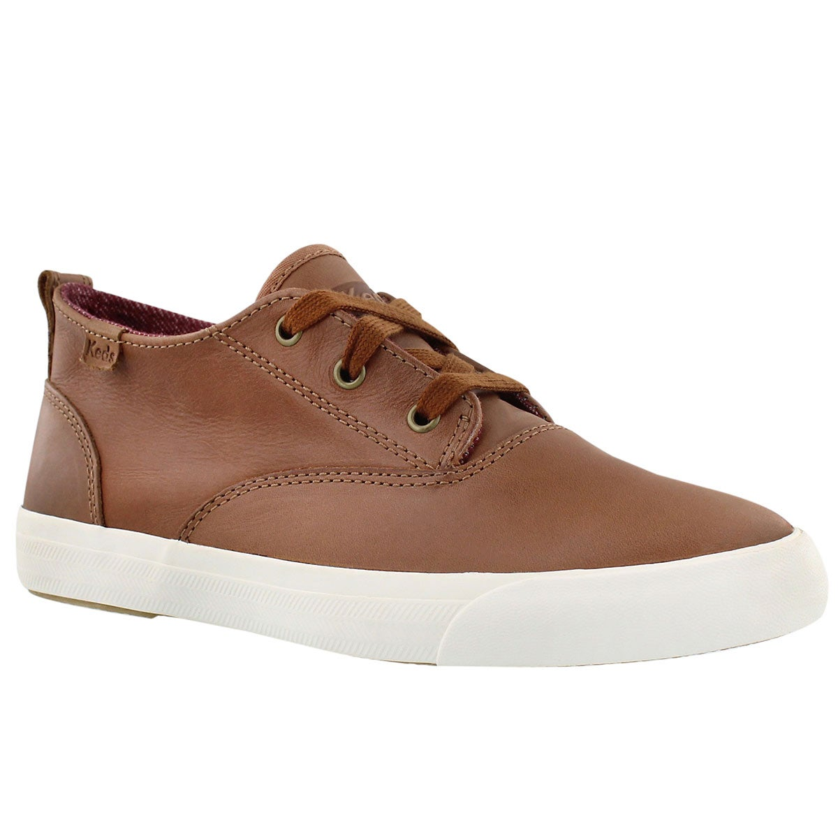 Lds Triumph Mid acorn lace up sneaker