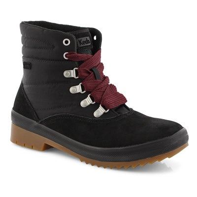 Lds Camp Boot WCX black ankle boot