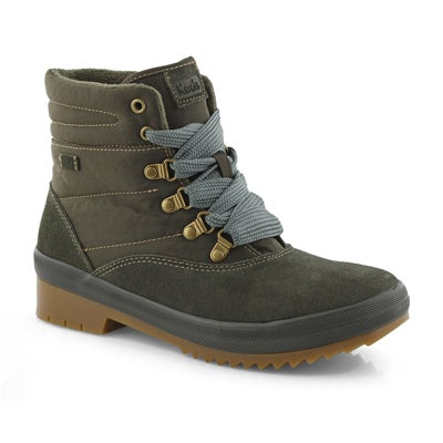 Lds Camp Boot green combat boot