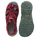 Lds Whisper beet red sport sandal