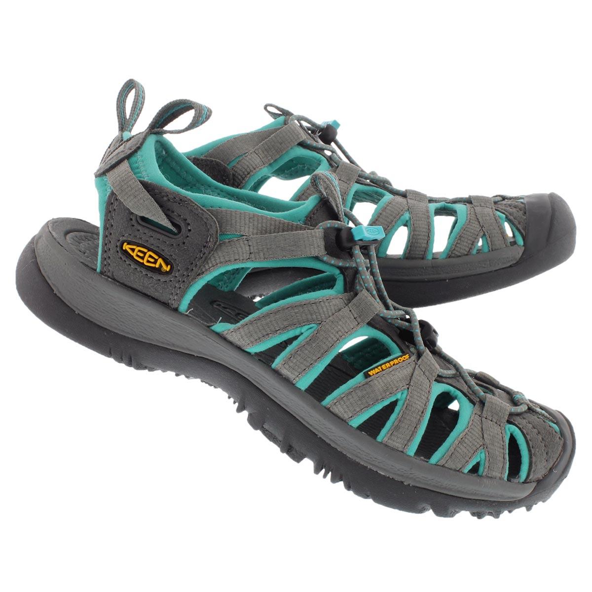 Lds Whisper dark shadow sport sandal
