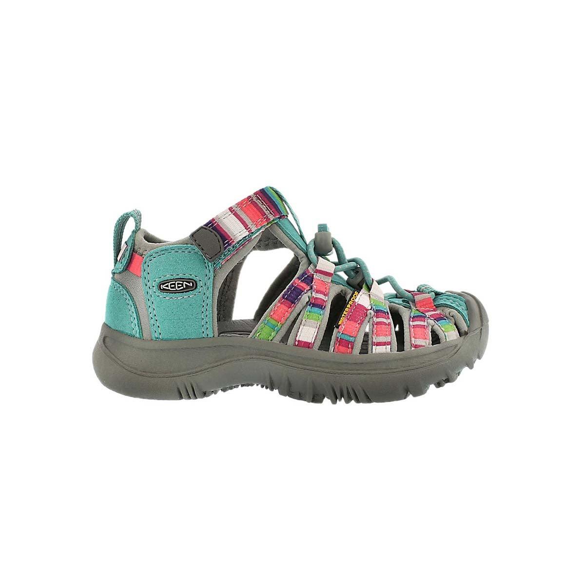Sandale sport WHISPER, bleu/multi, b�b�s