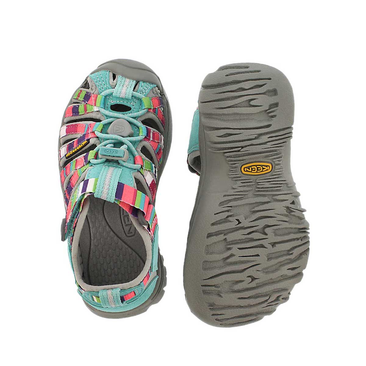 Sandale sport WHISPER, fusion raya, bébé