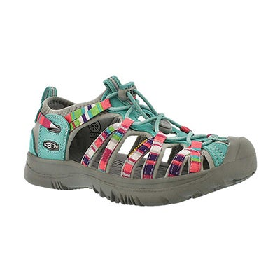 Keen Girls' WHISPER raya fusion sport sandals