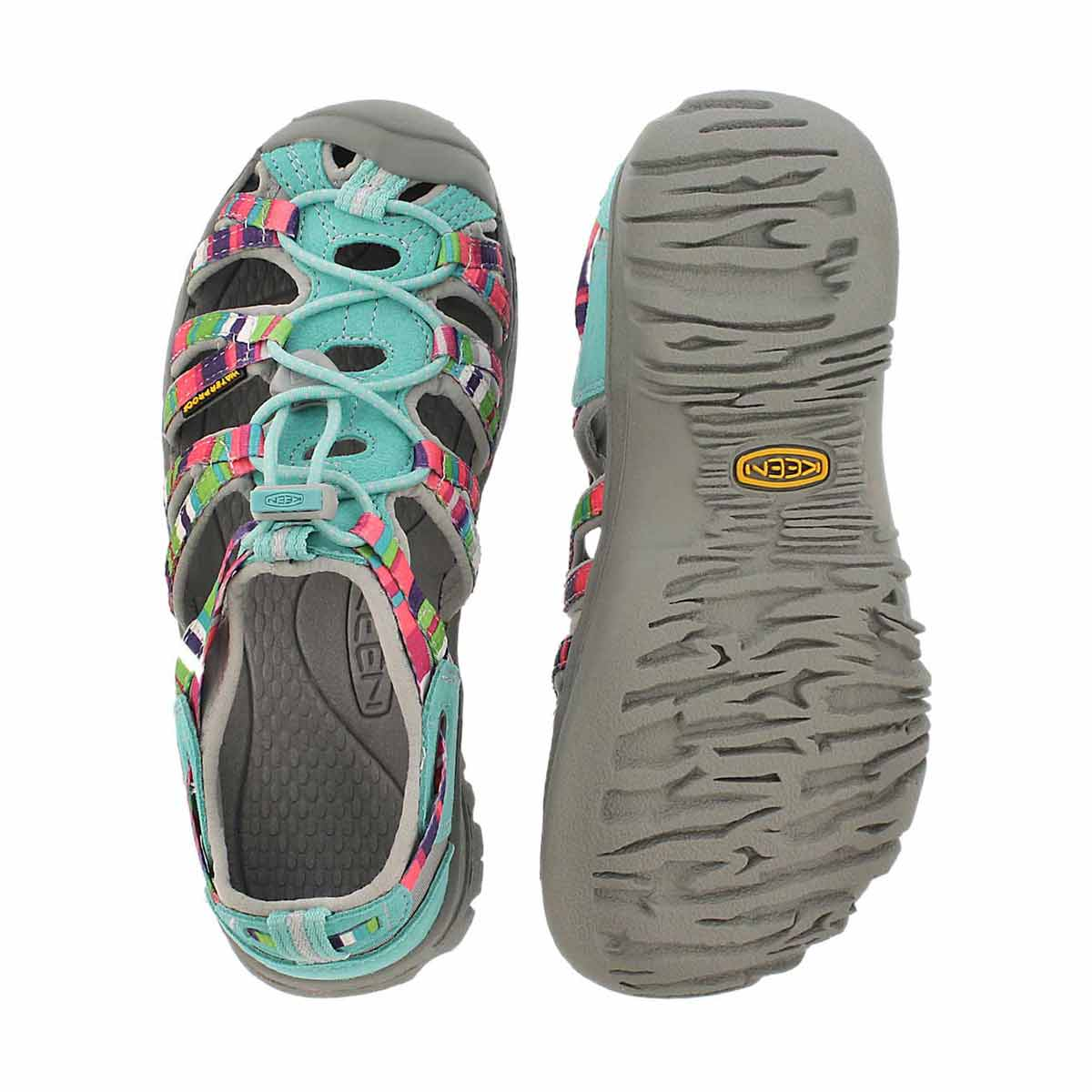 Sandale sport WHISPER, bleu/multi, fille