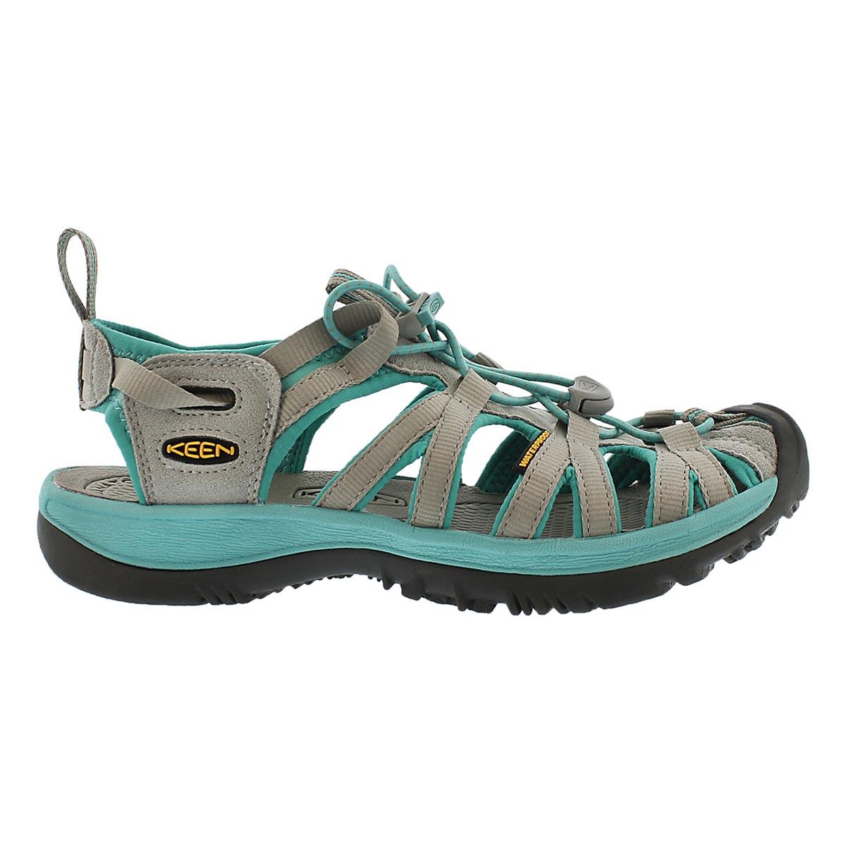 Lds Whisper grey/lagoon sport sandal