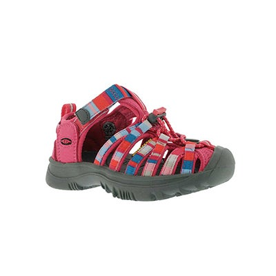 Keen Infants' WHISPER raya/honeysuckle sandals