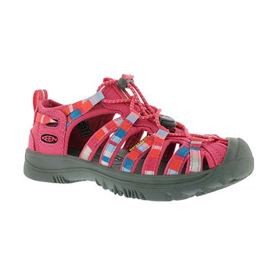 Keen Girls' WHISPER honeysuckle sport sandals