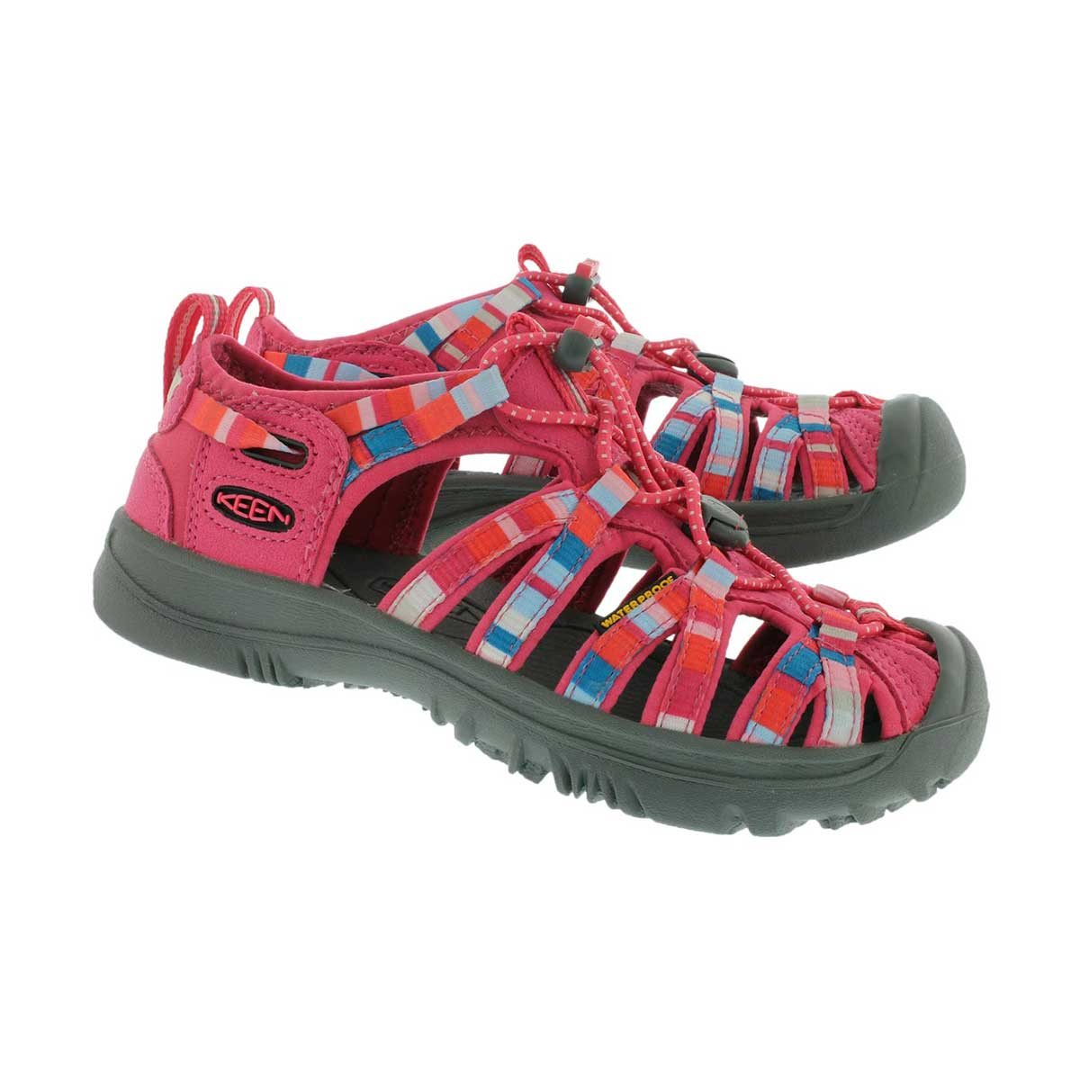 Grls Whisper honeysuckle sport sandal
