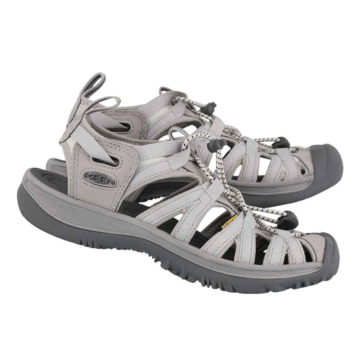 Lds Whisper vapor/steel gry sport sandal