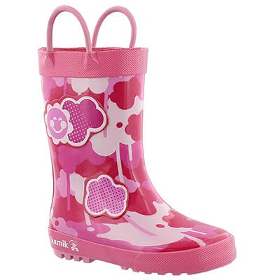 Infs Wildcloud dark pink rain boot