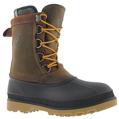 Kamik Men's WILLIAM gaucho waterproof winter boots