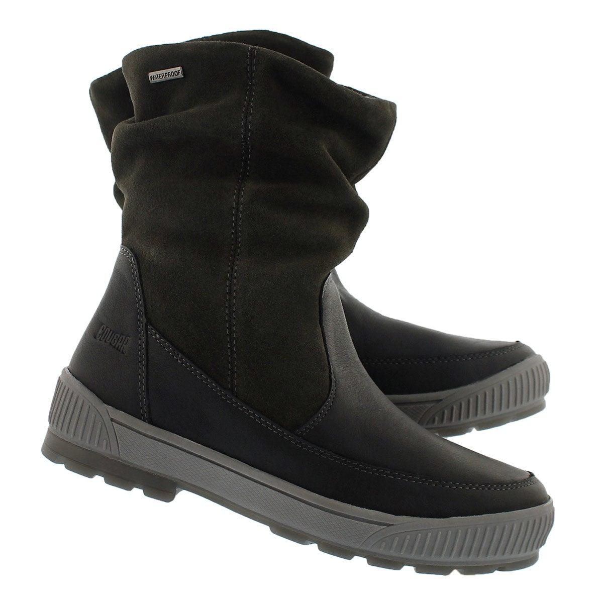 Lds Willow blk/gunmetal wtpf winter boot