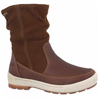 Lds Willow dark brown wtpf winter boot