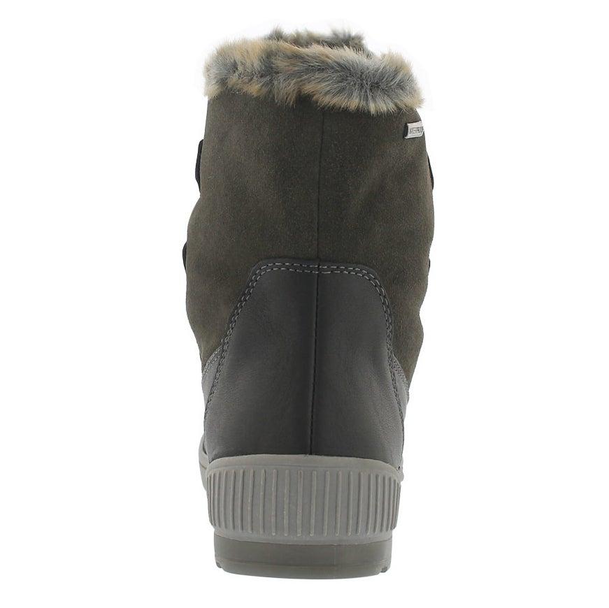 Lds Wilson blk/gunmetal wtpf winter boot