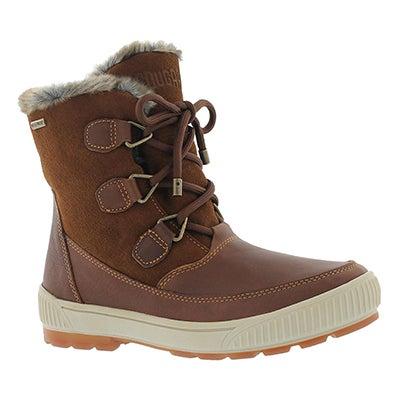 Cougar Women's WILSON dk brown/chestnut wtpf winter boots