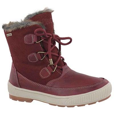 Lds Wilson pinot noir wtpf winter boot