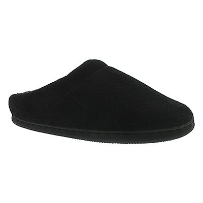 Tempur-Pedic Women's WINDSOCK black open back slippers