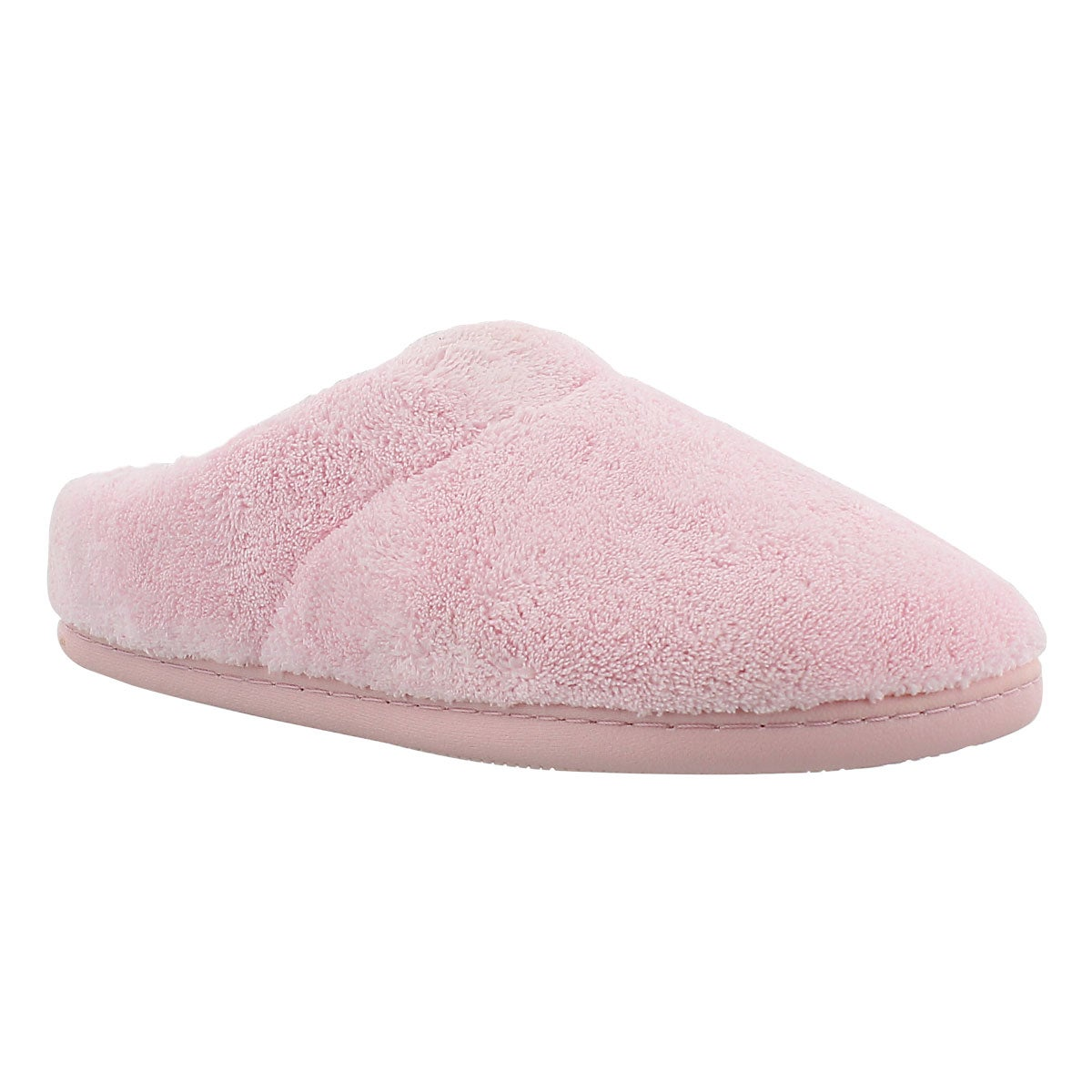 Lds Windsock pink open back slipper