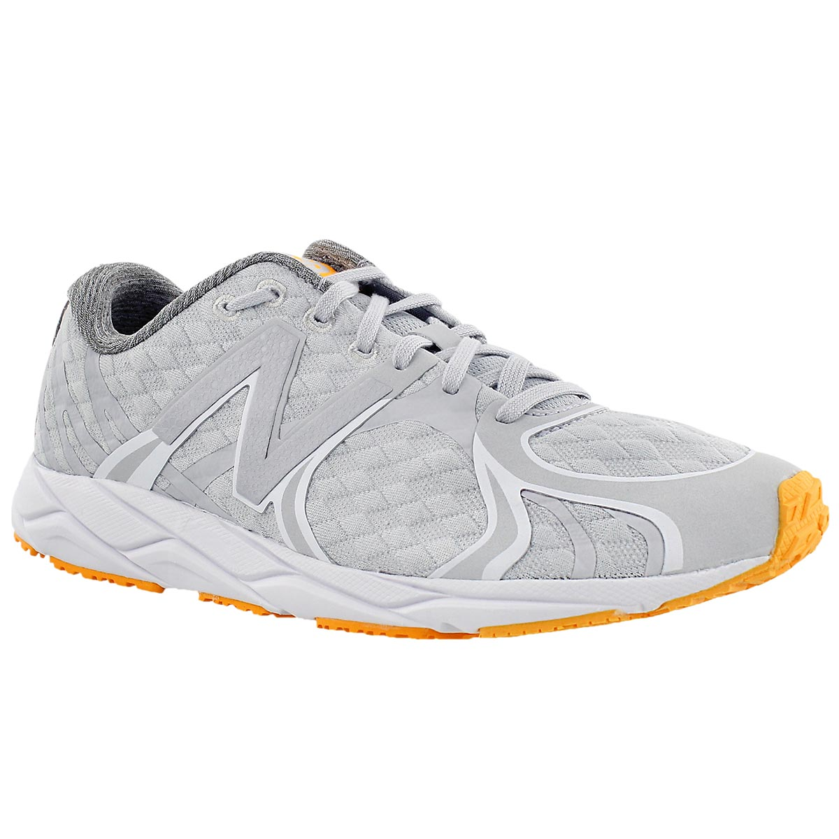 Lds 1400 grey lace up sneaker
