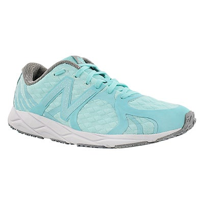 New Balance Women's 1400 blue lace up sneakers