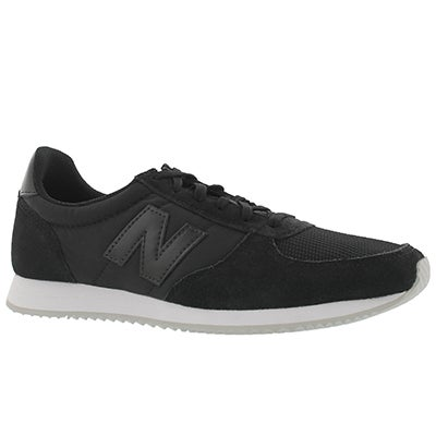 Lds 220 black lace up sneaker