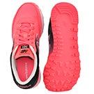 Lds 501 black/coral ombre lace up