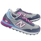 Lds 515 purple/grey lace up sneaker