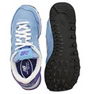 Lds 515 blue/navy lace up sneaker