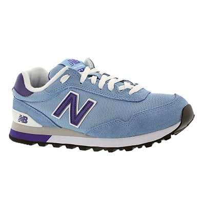 New Balance Women's 515 blue/navy lace up sneakers