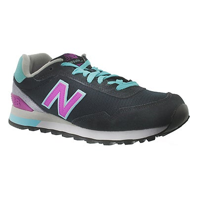 New Balance Women's 515 navy lace-up sneakers
