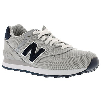New Balance Women's 574 grey lace up sneakers