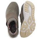 Lds Rush green/bone slip on sneaker