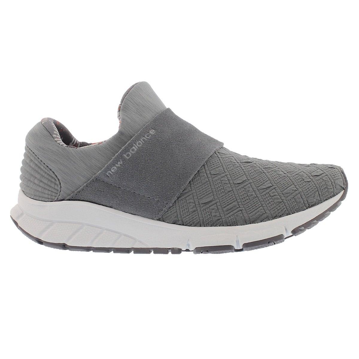 Lds Rush gunmetal slip on sneaker