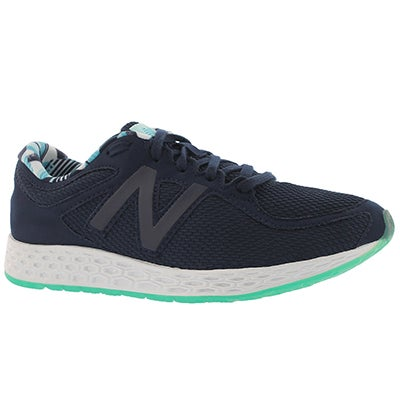 Lds Zan ozone blue lace up sneaker
