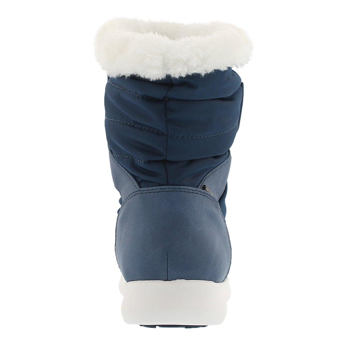 Lds Wonder blue wtpf pull on winter boot