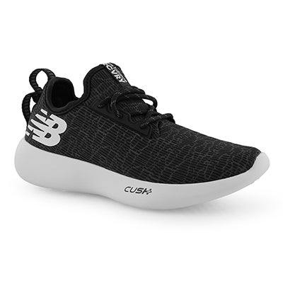 huge selection of dea95 0ae75 Lds Recovery blk wht lace up sneaker. New Balance