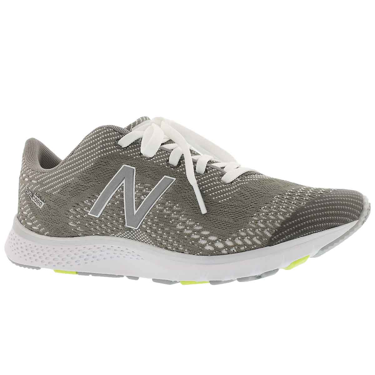 Women's AGILITY V2 silver/white lace up sneakers