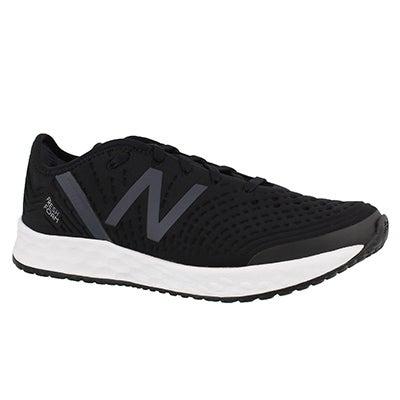 Lds Crush blk/wht lace up sneaker