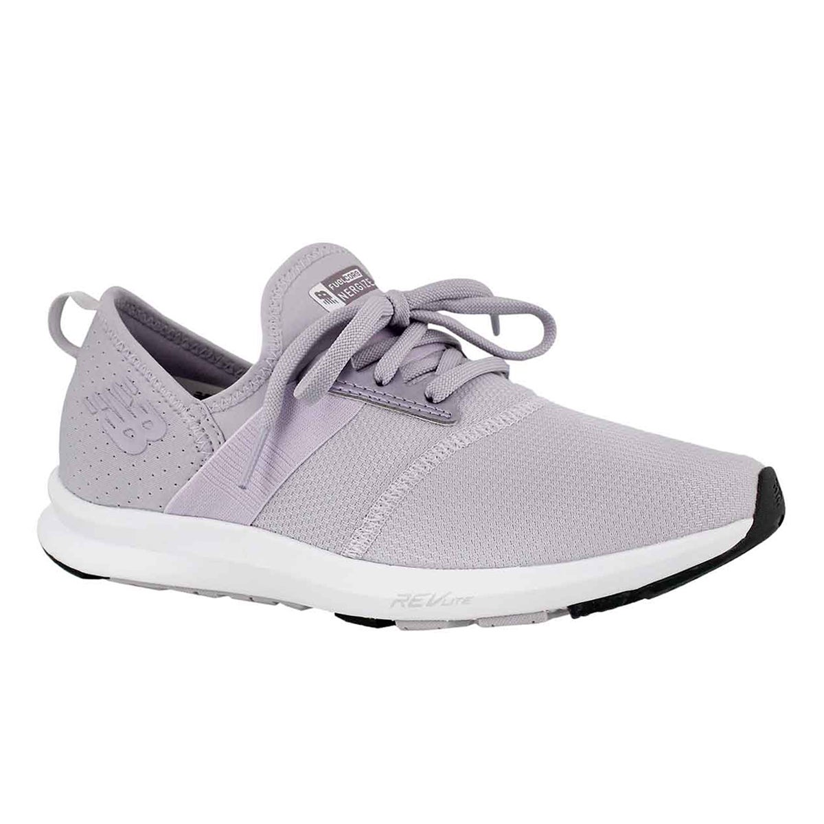 Women's FUELCORE thistle/white lace up sneakers