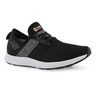 2f191378c425b Lds NRGv1 blk/wht peach sneaker. New Balance