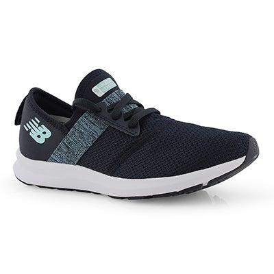 54ff167146776 Lds NRGv1 navy/buttermilk sneaker · New Balance
