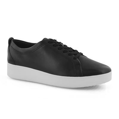 Lds Rally black lace up sneaker