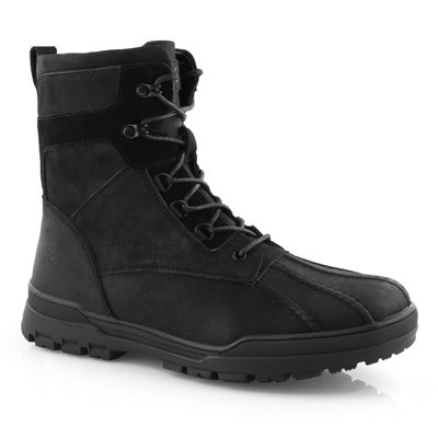 Mns Yanok blk waterproof snow boot