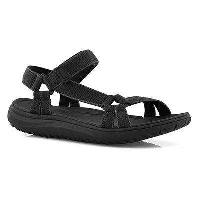 Lds Yara black sport sandal
