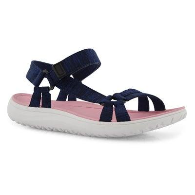 Lds Yara navy sport sandal