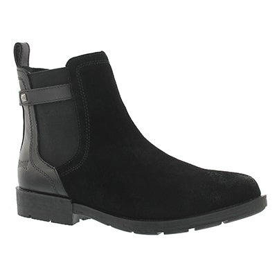 Lds Yardley black wtpf ankle boot