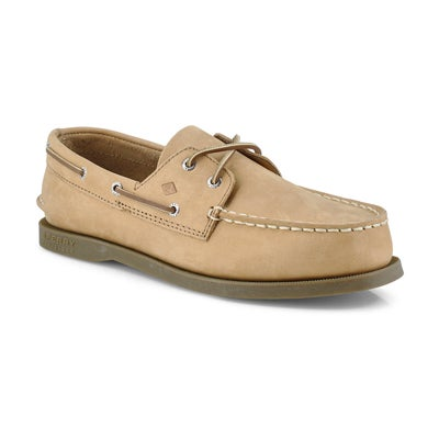 Sperry Boys' AUTHENTIC ORIGINAL 2-Eye sahara boat shoes